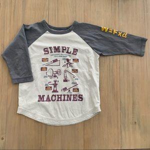 Peek | Simple Machines Cotton Raglan Top